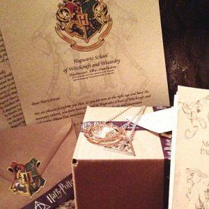 Hogwarts Acceptance Letter Gift Box