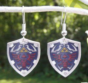 Hylian Shield Earrings
