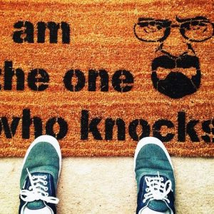 I Am The One Who Knocks Doormat