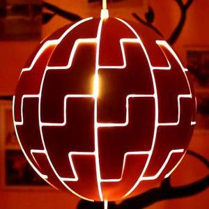Ikea Death Star Lamp