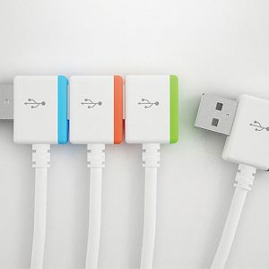 Infinitely Interlocking USB Cables