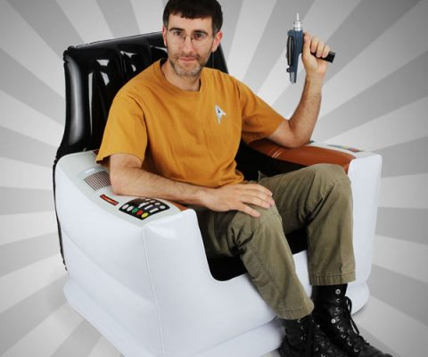 Inflatable Star Trek Captain's Chair