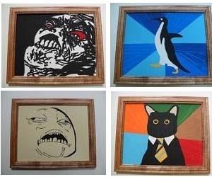 Internet Meme Paintings