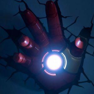 Iron Man 3D Hand Nightlight