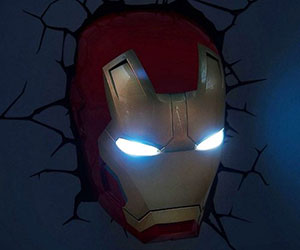 Iron Man 3D Lamp