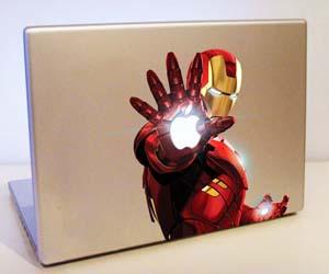 Iron Man MacBook Sticker