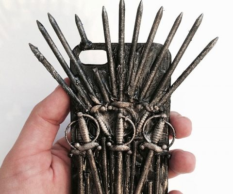 Iron Throne iPhone Case