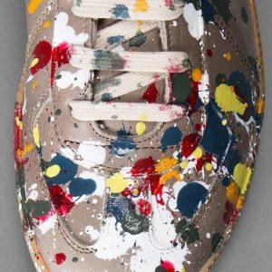 Jackson Pollock Styled Sneakers