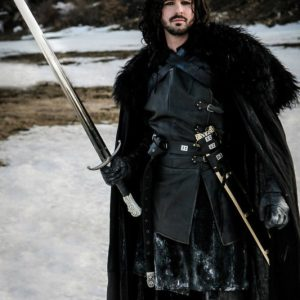 Jon Snow Night's Watch Cloak