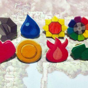 Kanto League Pokemon Badges