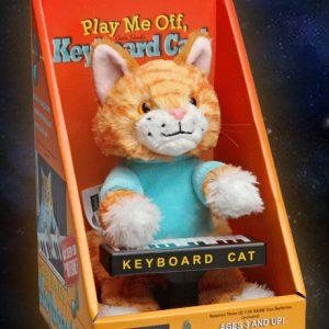 Keyboard Cat Animatronic Plushie