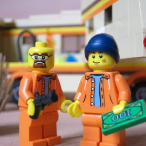 LEGO Breaking Bad Meth Lab Playset