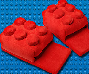 LEGO Brick Slippers