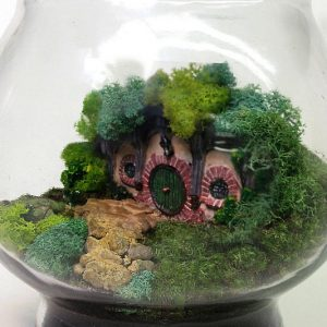 LOTR Hobbit Terrarium
