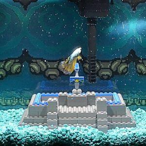 Legend Of Zelda Themed Aquarium