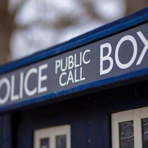 Life Size TARDIS Police Call Box