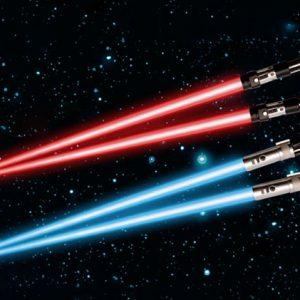 Light Up Lightsaber Chopsticks