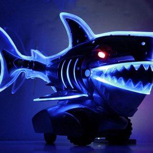 Light Up Radio Control Shark