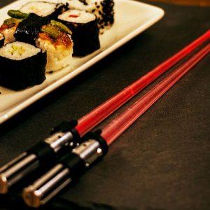 Lightsaber Light-Up Chop Sticks