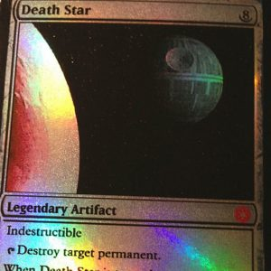 Magic The Gathering Death Star Card