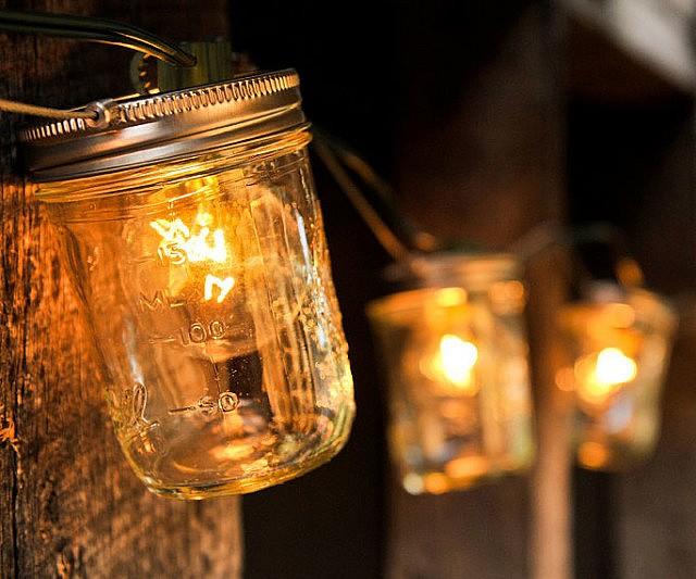 Mason Jar String Lights Interwebs