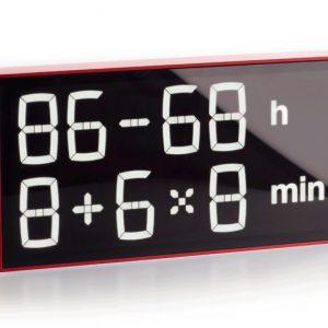 Math Calculations Clock