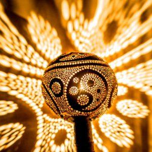 Mesmerizing Light Patterns Lamp