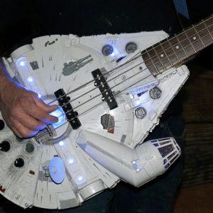 Millennium Falcon Bass Guitar