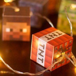 Minecraft LED String Lights