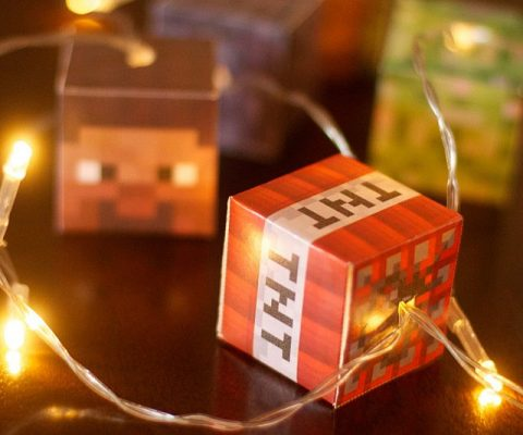 Minecraft LED String Lights