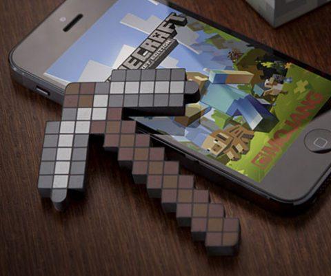 Minecraft Pickaxe Stylus