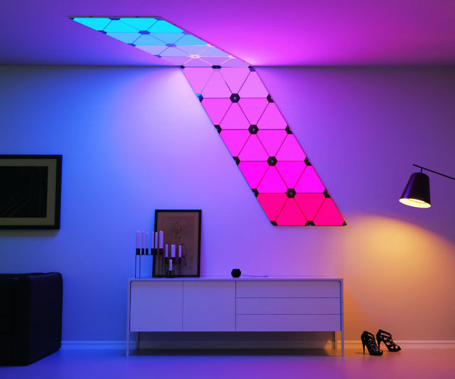 Modular Smart Lighting Panels Interwebs
