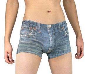 Never Nude Jeanshorts Underwear