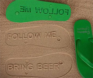 Personalized Message Sandals