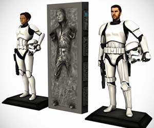 Personalized Storm Trooper Figure