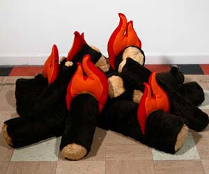 Plush Fire Logs