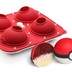 Poke Ball Cupcake Pan