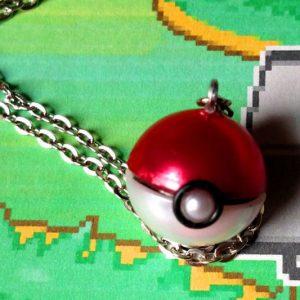 Pokeball Necklace