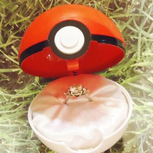 Pokemon Engagement Ring Box