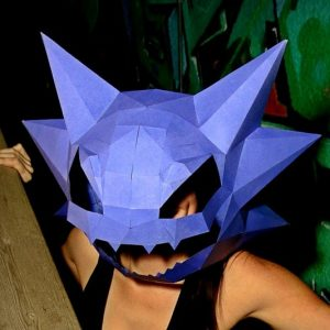 Pokemon Paper Masks