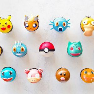 Pokemon Styled Cupcakes