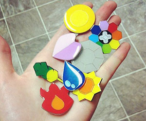 Pokemon Trainer Badges