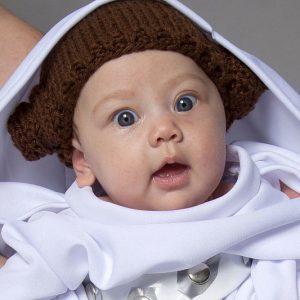 Princess Leia Baby Costume