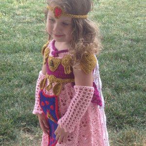 Princess Zelda Crochet Costume