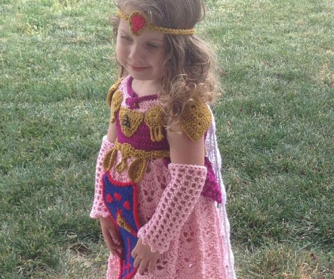 Princess Zelda Crochet Costume