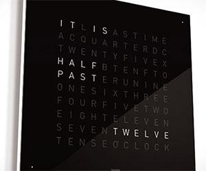 Qlocktwo Text Clock