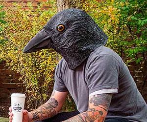 Realistic Crow Mask