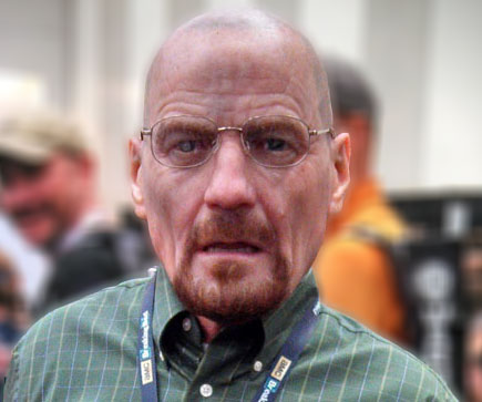 Realistic Walter White Mask
