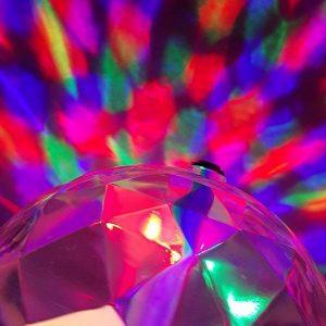 Rotating LED Strobe Light