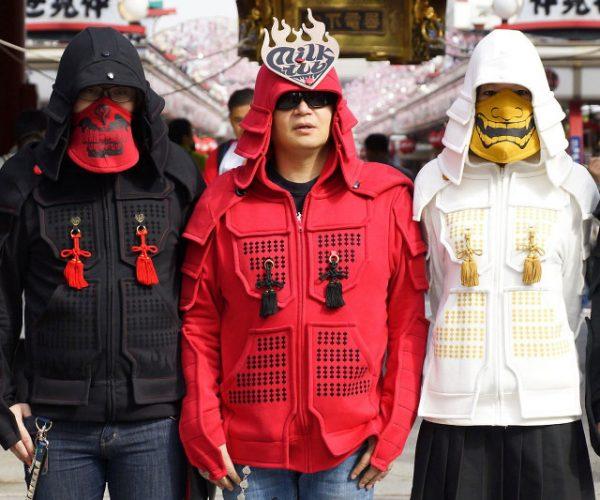 Samurai Armor Hoodies